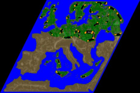 Settlers 3 Map: Europe.North from Ludi