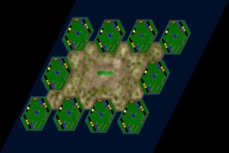 Settlers 3 Map: 10er_DerEckenschmied from jay