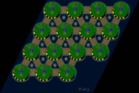Settlers 3 Map: 15er_Pandemic from Zwerg