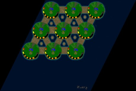 Settlers 3 Map: 9er_Pandemic from Zwerg