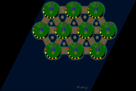 Settlers 3 Map: 10er_Pandemic from Zwerg