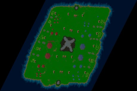 Settlers 3 Map: Kampftraining klein from Area_51