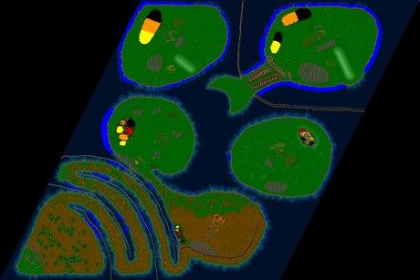 Settlers 3 Map: Wunderschöne Inselwelt lol from DaLumpy
