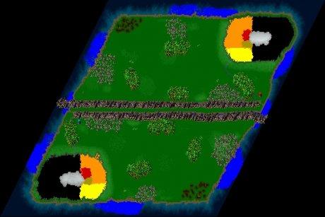 Settlers 3 Map: Belagerung2 from Oeltje