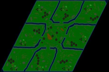 Settlers 3 Map: Batelgeze_v2 from SzyjuS
