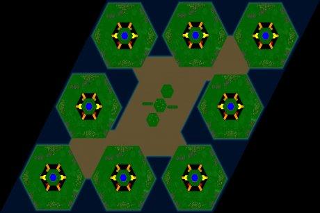 Settlers 3 Map: 8er_Aesthetics from jay