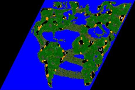 Settlers 3 Map: 14er_final_World_v11 from jay