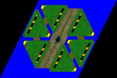 Settlers 3 Map: 6er_Toblerone_ToGo from Michael_TK
