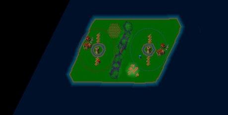 Settlers 3 Map: 2er_KatapultBattle from Zwerg