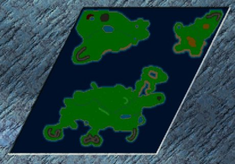 Settlers 3 Map: Der Aufbau from Max