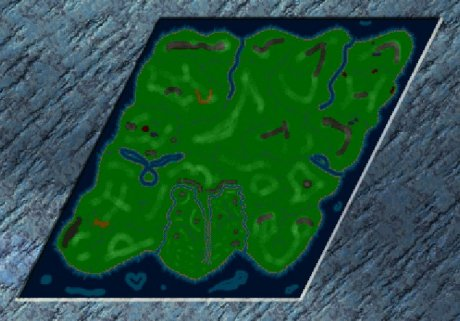 Settlers 3 Map: Die große Schlacht from Max