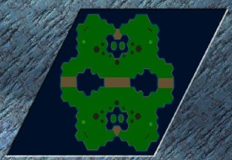 Settlers 3 Map: 4rer_Turnier_v4 from Rampy