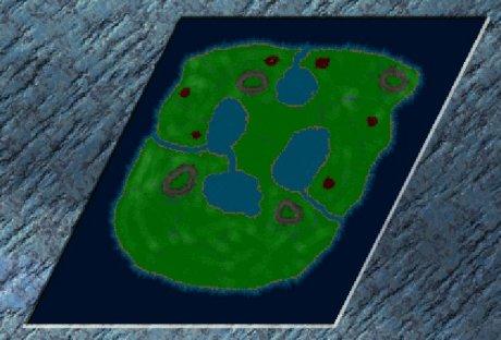 Settlers 3 Map: Die Unterstützung! from Max