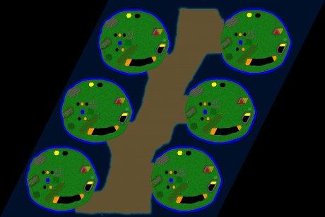 Settlers 3 Map: 6er_Alle_guten_Dinge_sind_4 from OldManDeo